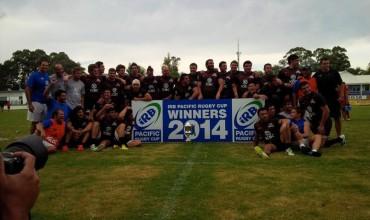 Pampas XV campeón de la Pacific Rugby Cup 2014
