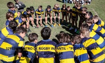 """Se viene el 32º Encuentro de Rugby Infantil """"Pedro Guraya"""""""