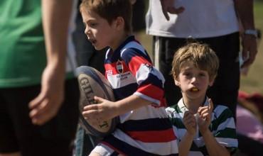 El fin de semana fue una fiesta a puro Rugby Infantil