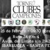 Se viene el 2º Torneo de Clubes Campeones