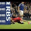 #Video Sam Warburton Try #Wales vs #Francia #6N