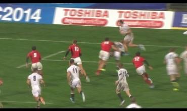 Los Pumitas vs Inglaterra #JWC2014 #Highlights